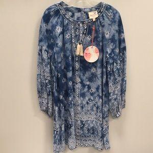 NWT Hayden Girls boho dress size 7/8